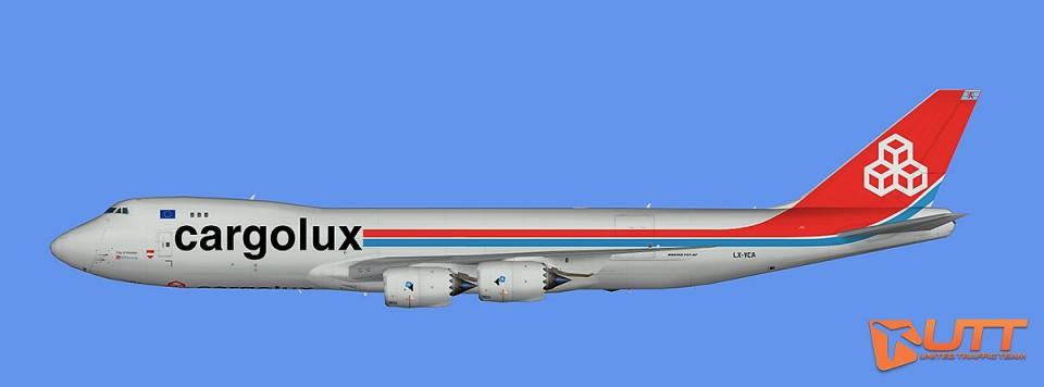 Cargolux Boeing 747-8F (FS2004)