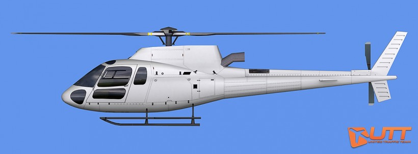 UTT AI Eurocopter AS350 (Heli)
