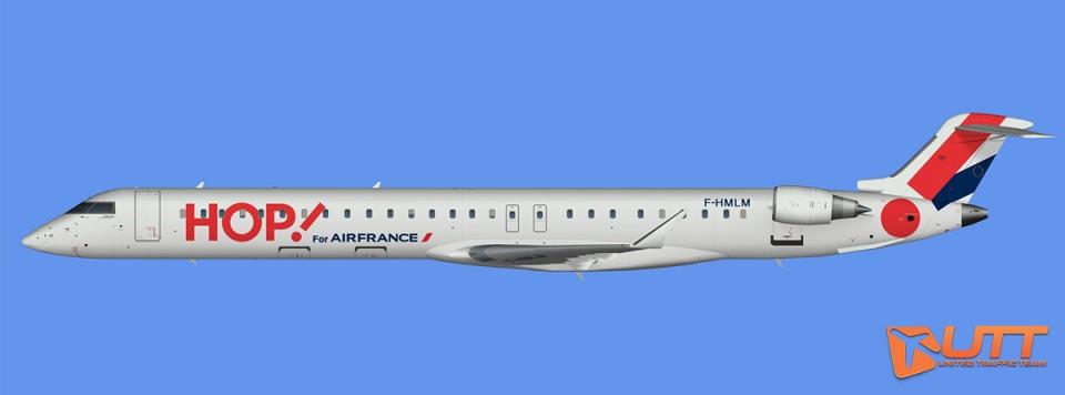 HOP!/Britair CRJ-1000 representative fleet (FSX,Prepar3D)