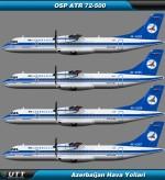ATR 72-500 Azerbaijan Airlines
