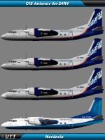 Antonov An-24 Nordavia
