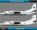 Antonov An-26 Tomsk Avia