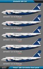 Antonov An 124 Polet (Entire fleet pack)