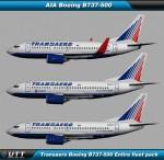 Boeing B737-500 Transaero (Entire fleet pack)