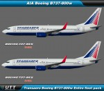 Boeing B737-800 Transaero (Entire fleet pack)