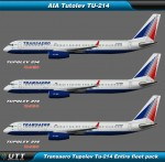 Tupolev TU-214 Transaero (Entire fleet pack)