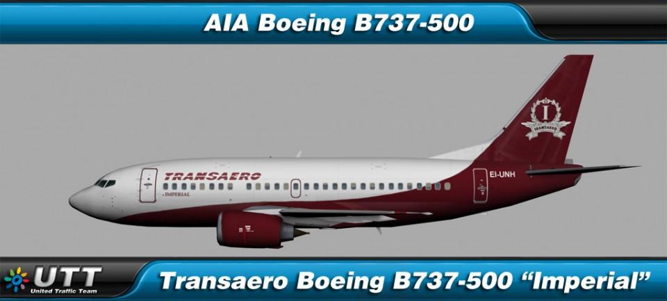 Boeing B737-500 Transaero