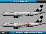 Airbus A320 Volaris (Entire fleet pack)