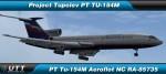 Tupolev TU-154M Aeroflot NC RA-85735