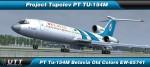Tupolev TU-154M Belavia Old Colors EW-85741