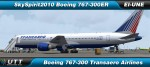 Boeing 767-300 Transaero Airlines - EI-UNE