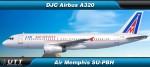 Airbus A320 Air Memphis SU-PBH