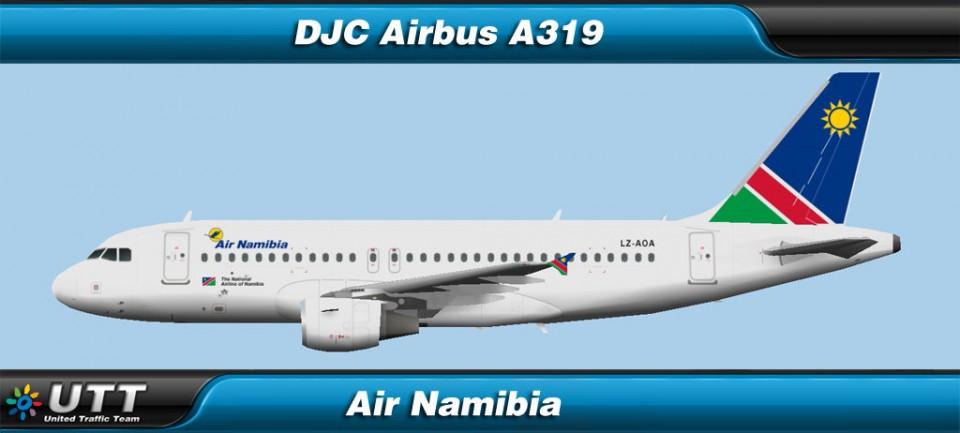 Airbus A319 Air Namibia