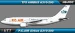 P.C.AIR Airbus A310-200 HS-PCC