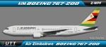 Boeing 767-200 Air Zimbabwe Z-WPF
