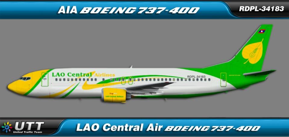 Lao Central Air Boeing 737-400 RDPL-34183