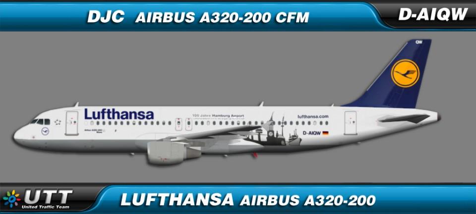 Lufthansa Airbus A320-200 D-AIQW