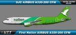 First Nation Air Airbus A320-200 5N-FNA/FNB/FNC