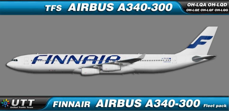 Finnair Airbus A340-300 fleet