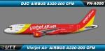 Vietjet Airbus A320-200 VN-A666