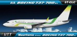 Mauritania Airways Boeing 737-700 5T-CLC