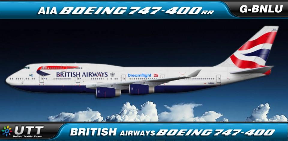 British Airways Boeing 747-400 G-BNLU (Dreamflight 25)