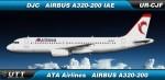 ATA Airlines Airbus A320-200 UR-CJF