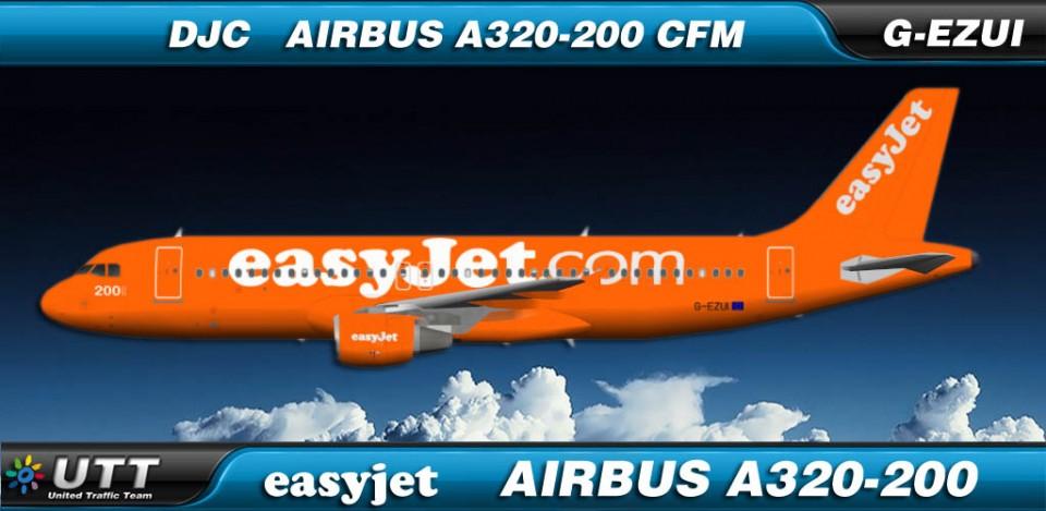 Easyjet Airbus A320-200 G-EZUI