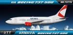 Armavia Boeing 737-500 EK73775