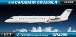 Air Zena Canadair CRJ200 4L-TGS