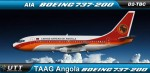 TAAG Angola Airlines Boeing 737-200 D2-TBC