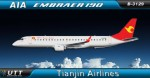 Tianjin Airlines Embraer 190 B-3129