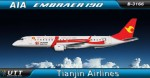 Tianjin Airlines Embraer 190 B-3166