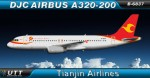 Tianjin Airlines Airbus A320-200 B-6837