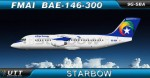 Starbow Airlines BAE146-300 9G-SBA