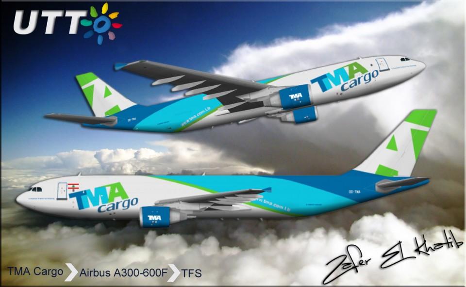 TMA CARGO AIRBUS A300F4-600R OD-TMA