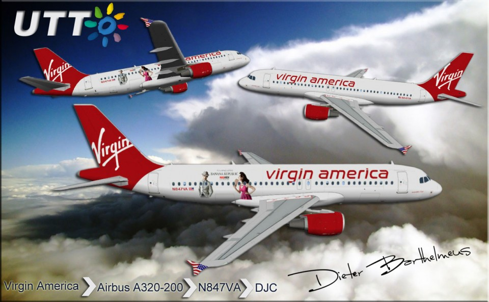 Virgin America Airbus A320-200 N847VA