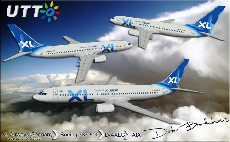 XL Airways Germany Boeing 737-800 D-AXLG