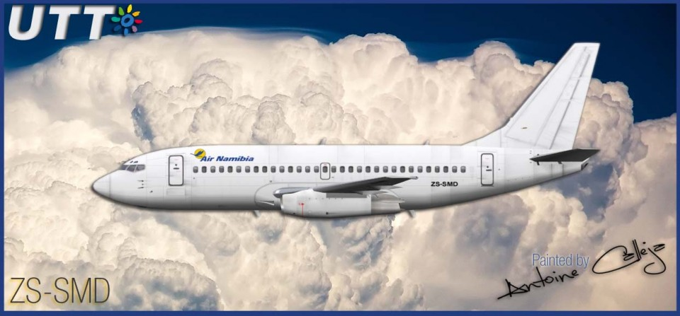 Air Namibia Boeing 737-200 ZS-SMD