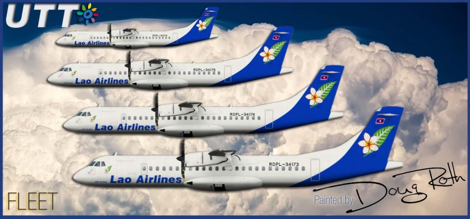 LAO Airlines ATR 72-500 Fleet