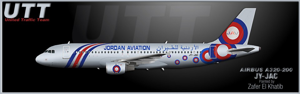 Jordan Aviation Airbus A320-200 JY-JAC