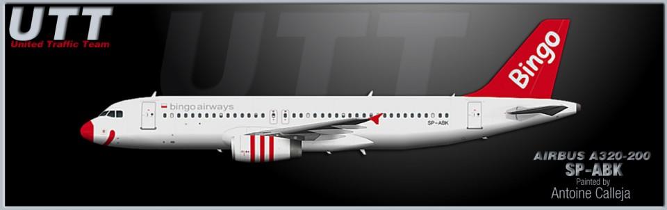 Bingo Airways Airbus A320-200 SP-ABK