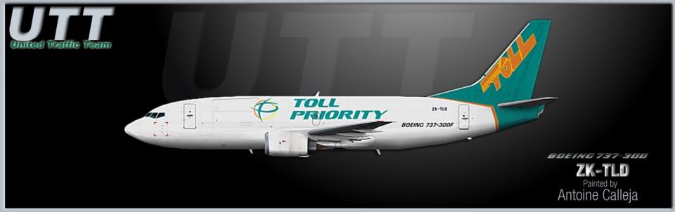 Airwork Boeing 737-300 ZK-TLD