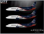Batavia Air Boeing 737-300 PK-YVK PK-YVL PK-YVW