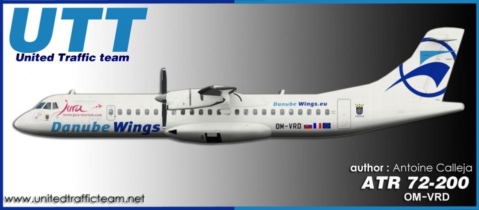 Danube Wings ATR72-200 OM-VRD
