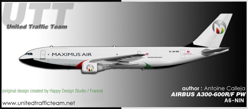 Maximus Air Cargo Airbus A300-600R/F A6-NIN