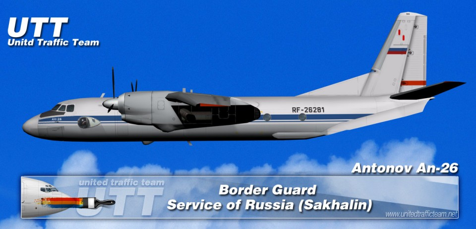 Border Guard Service of Russia (Sakhalin) Antonov AN-26