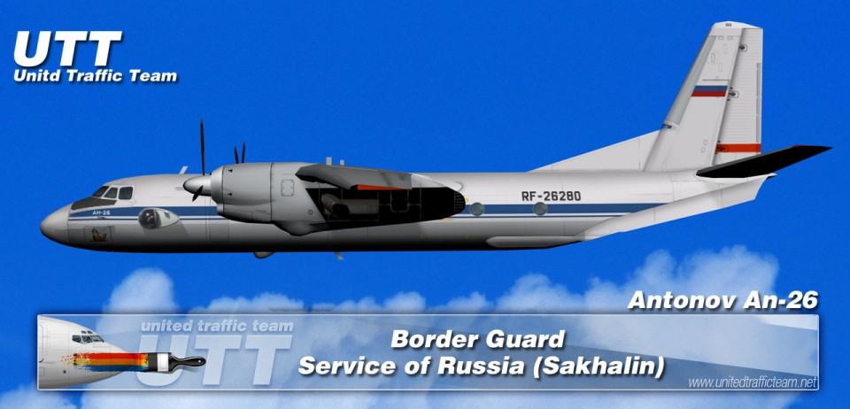 Border Guard Service of Russia (Kamchatka) Antonov AN-26