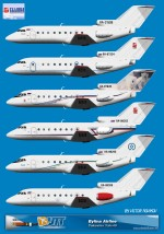 Bylina Airlines Yakovlev Yak-40 Fleets