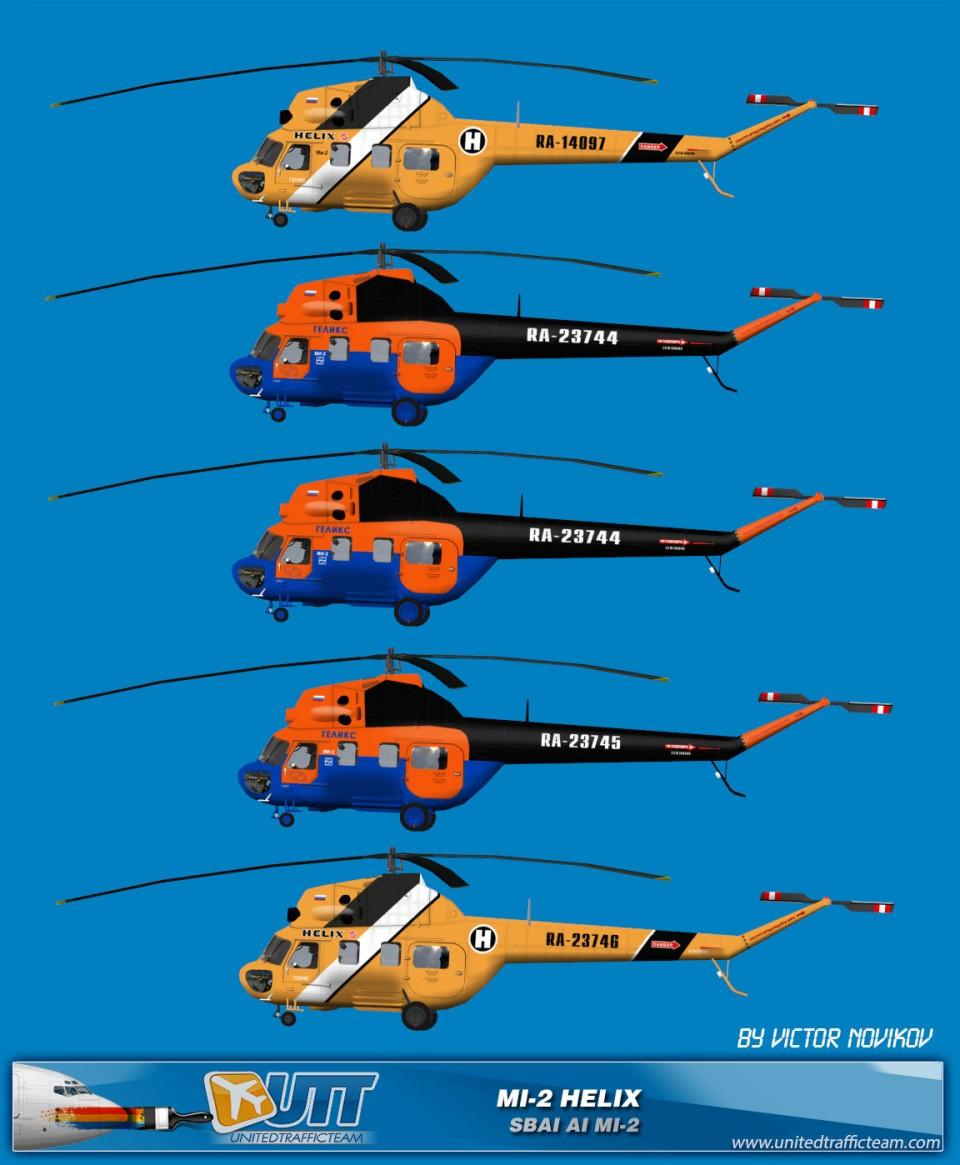 Helix AI Helicopters Mi-2